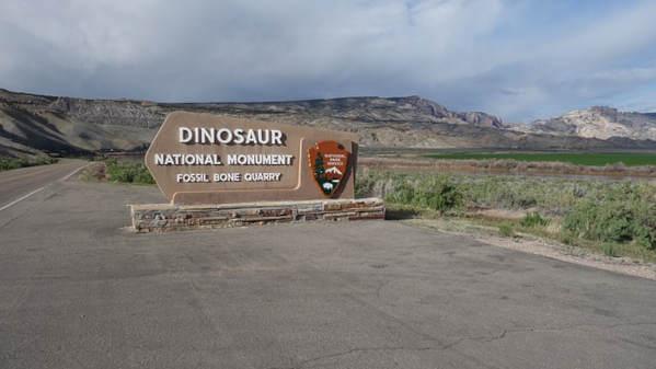 Parco dei Dinosauri in Colorado