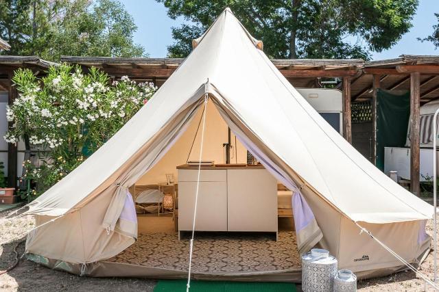 Camping in tenda in Sardegna