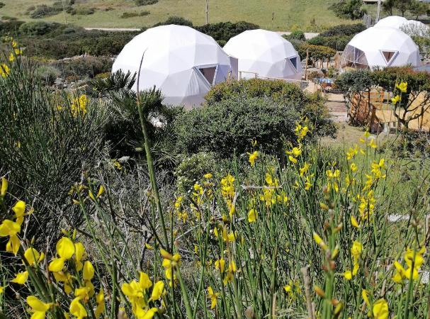 Glamping in Sardegna per vacanza