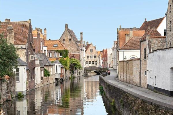 Città di Bruges in Belgio