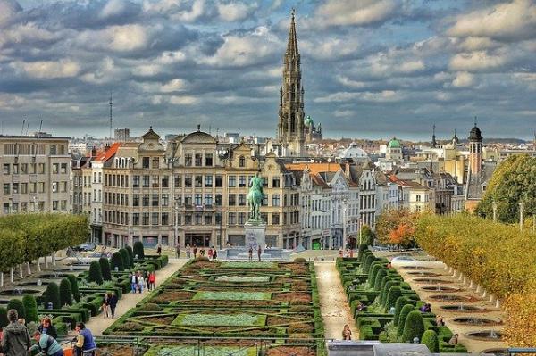 La capitale del Belgio