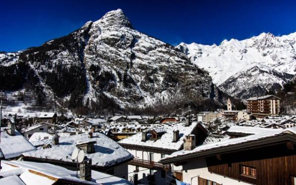 Fine anno sulla neve a Courmayer
